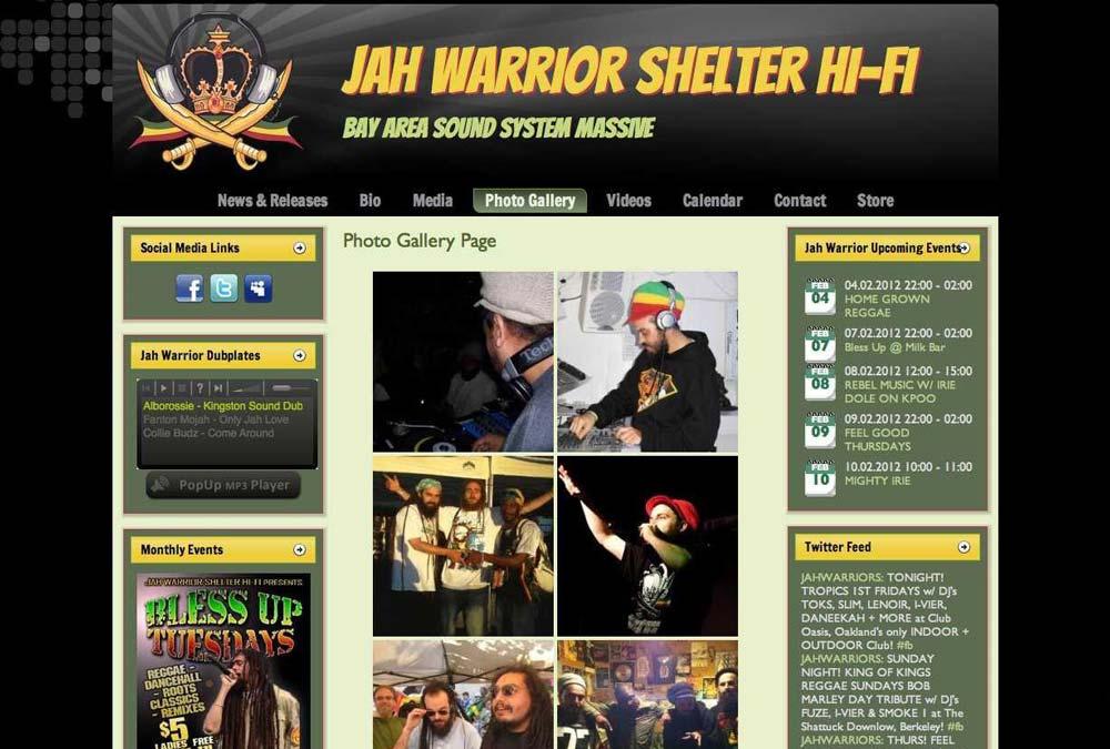 Jah Warrior Shelter