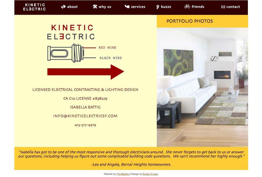 Kinetic Electric SF